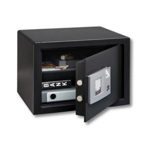 Burg Wächter værdiskab PointSafe P 2 E FS med elektronisk fingeraftryks lås og kodetastatur.